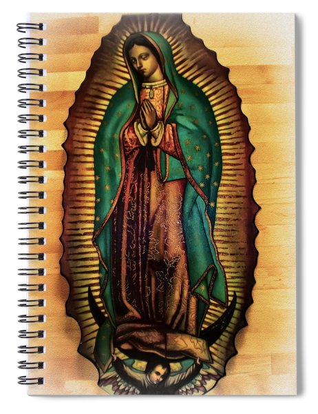The Virgin Of Guadalupe  Spiral Notebook