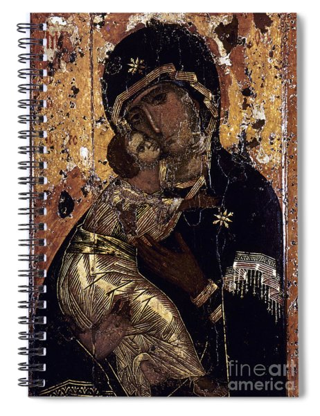 The Virgin Of Vladimir Spiral Notebook