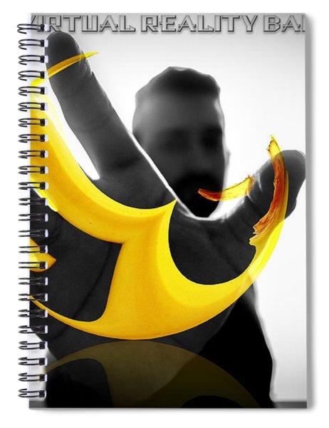 The Virtual Reality Banana Spiral Notebook
