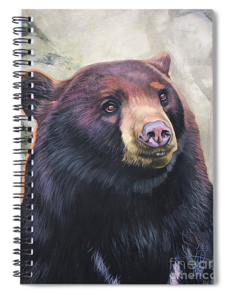 The Virtue Of Grace Spiral Notebook