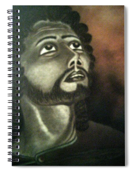 The Vision Of St. Christopher Spiral Notebook
