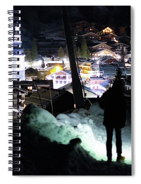 The Walk Into Town- Spiral Notebook