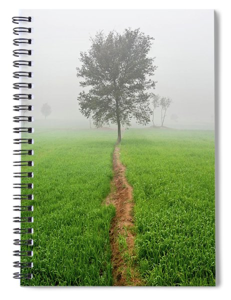 The Walking Tree Spiral Notebook