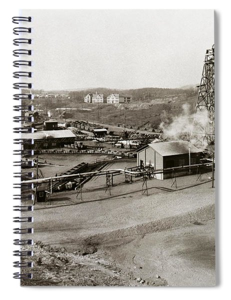 The Wanamie Colliery Lehigh And Wilkes Barre Coal Co Wanamie Pa Early 1900s Spiral Notebook