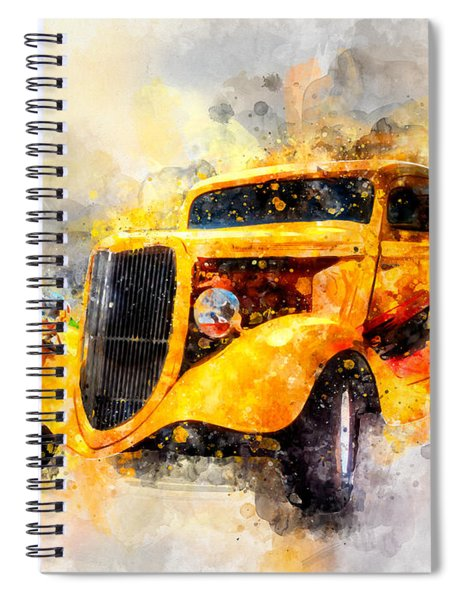 The Wanderer Watercolor Spiral Notebook