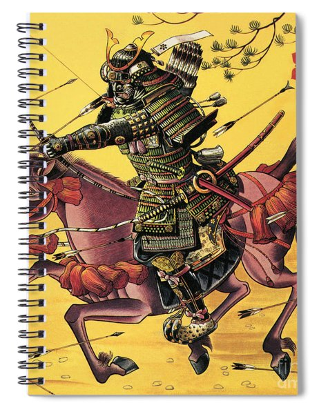 The War Lords Of Japan Spiral Notebook