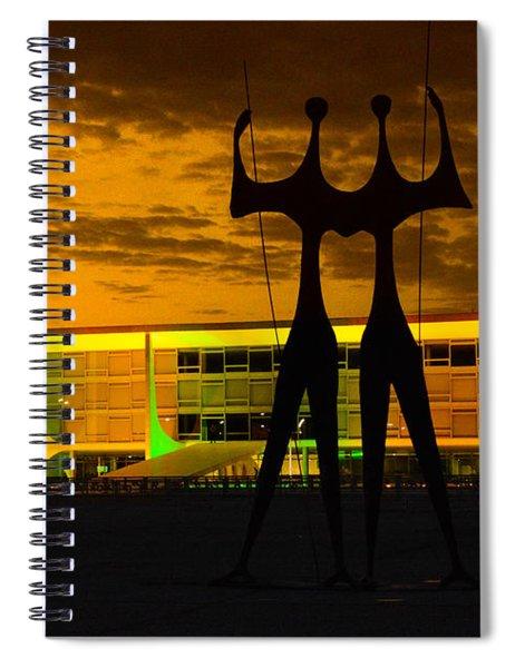 The Warriors Spiral Notebook