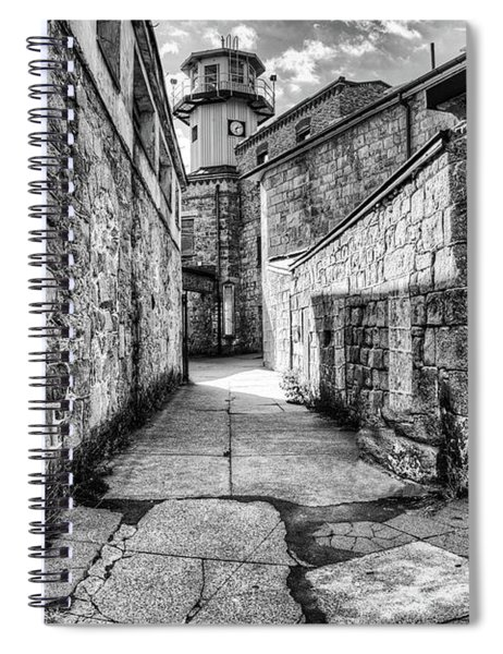 The Watch Tower Eastern State Penitentiary Spiral Notebook