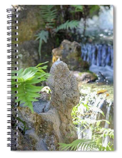 The Water And Rock Spot Spiral Notebook