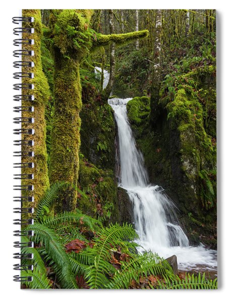 The Water Staircase Spiral Notebook