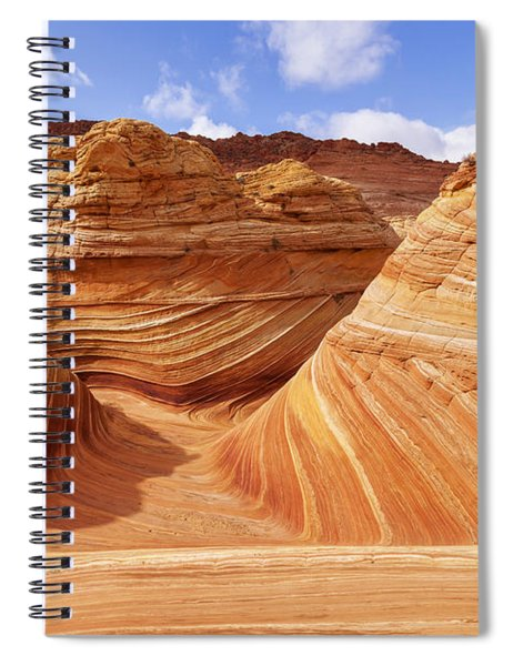 The Wave I Spiral Notebook by Chad Dutson