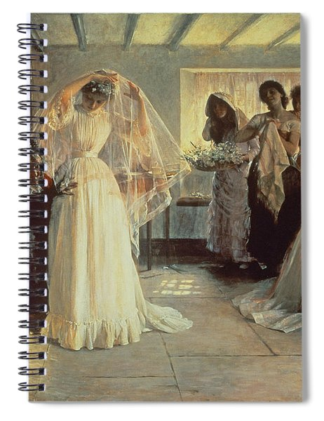 The Wedding Morning Spiral Notebook
