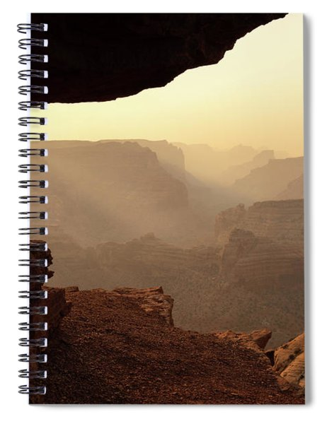 The Wedge Spiral Notebook
