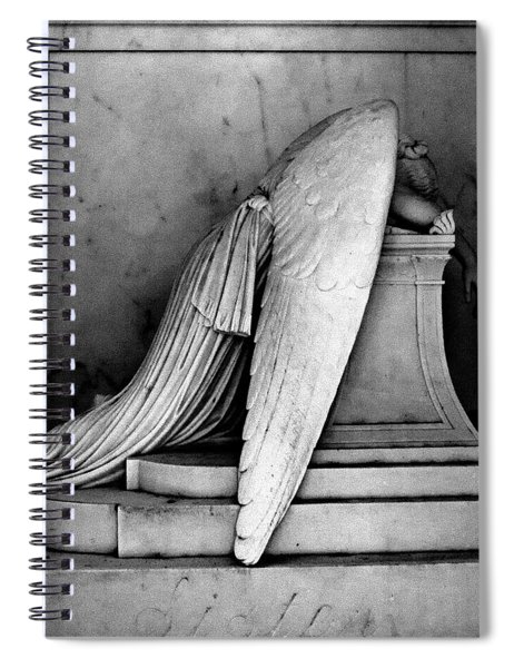 The Weeping Angel Spiral Notebook
