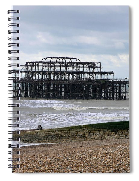 The West Pier Brighton. Spiral Notebook
