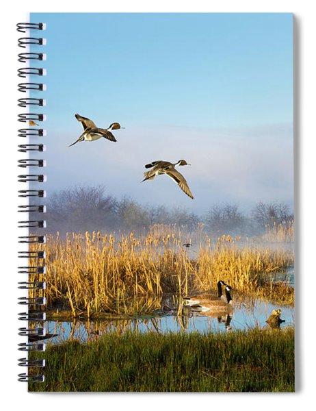 The Wetlands Crop Spiral Notebook