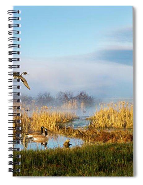 The Wetlands Spiral Notebook
