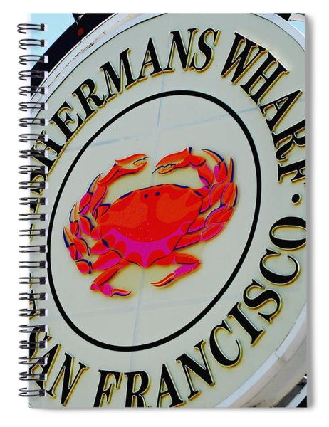 The Wharf Spiral Notebook