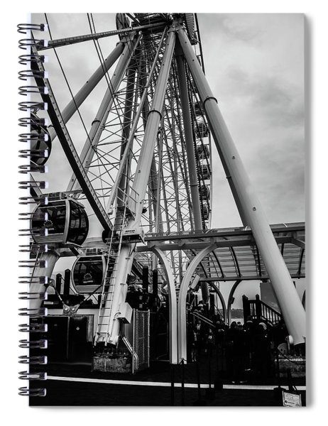 The Wheel Seattle  Spiral Notebook