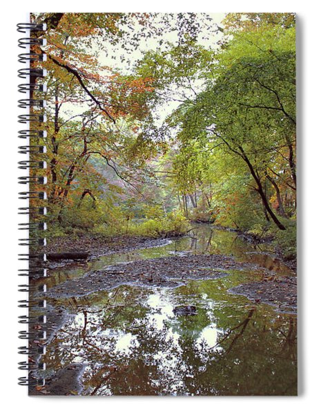 The Whisper Of Fall Spiral Notebook