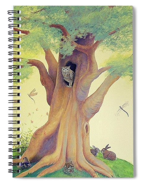 The Whistling Tree Spiral Notebook