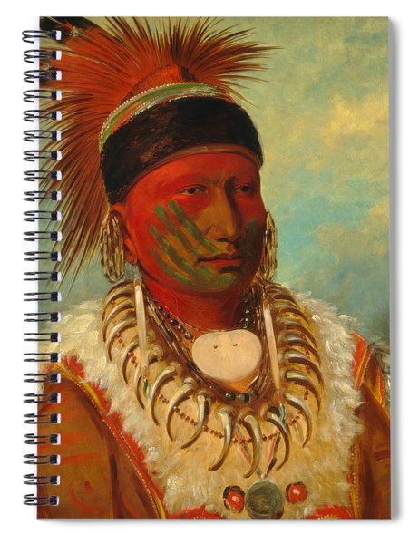 The White Cloud, Head Chief Of The Iowas Spiral Notebook