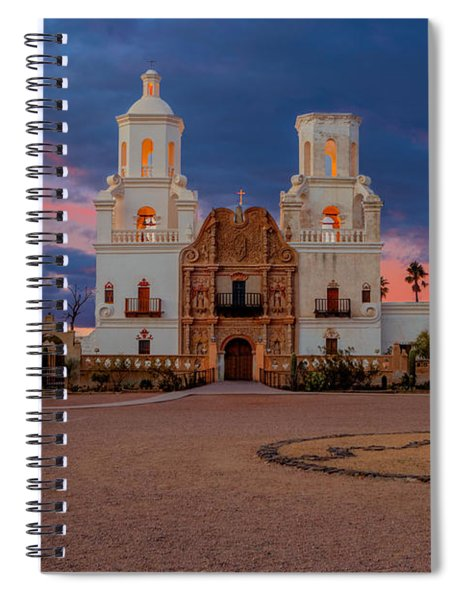 The White Dove Of The Desert Spiral Notebook