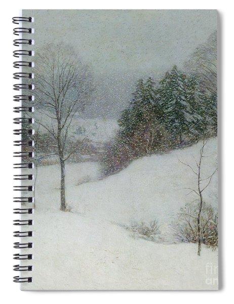 The White Veil Spiral Notebook