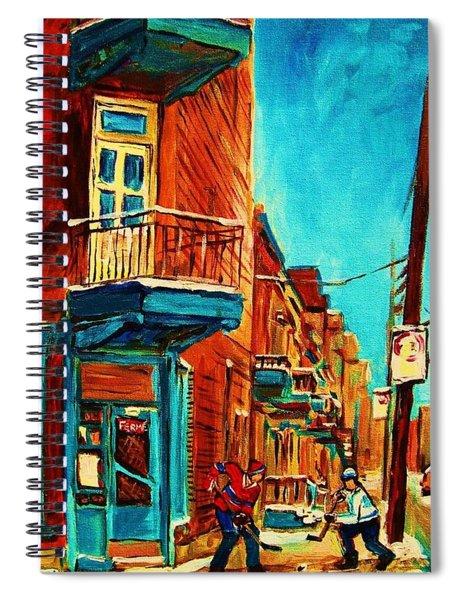 The Wilensky Doorway Spiral Notebook