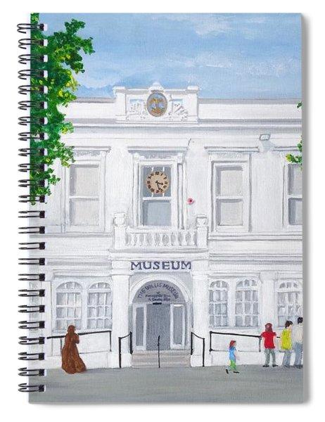 The Willis Museum, Basingstoke 2017  Spiral Notebook