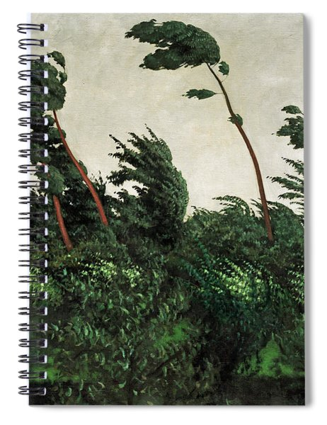The Wind Spiral Notebook