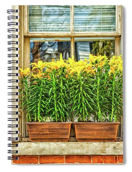 The Window Box Spiral Notebook