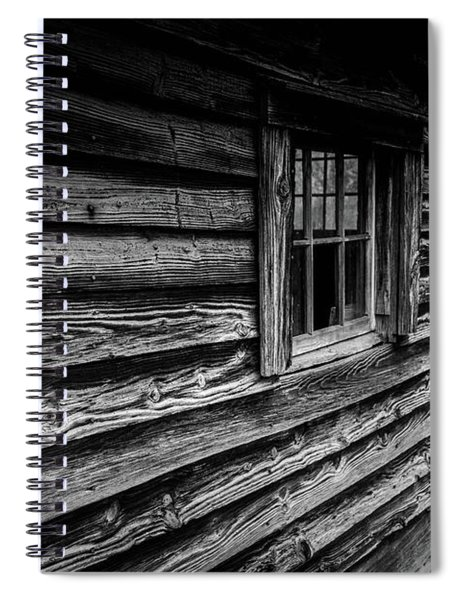 Spiral Notebook featuring the photograph The Window by Doug Camara