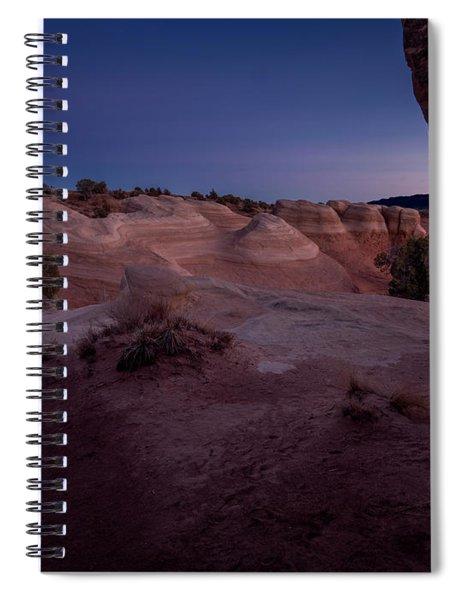 The Window In Desert Spiral Notebook