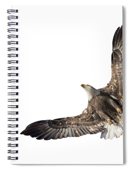 The Wings Of An Eagle 2018 Isolated Spiral Notebook