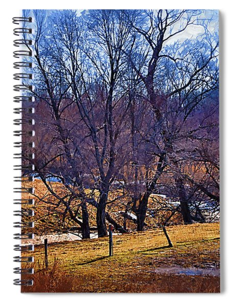 The Winter Creek Spiral Notebook