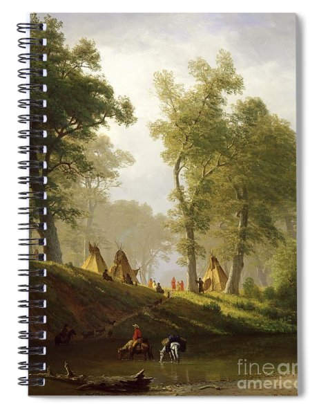 The Wolf River - Kansas Spiral Notebook