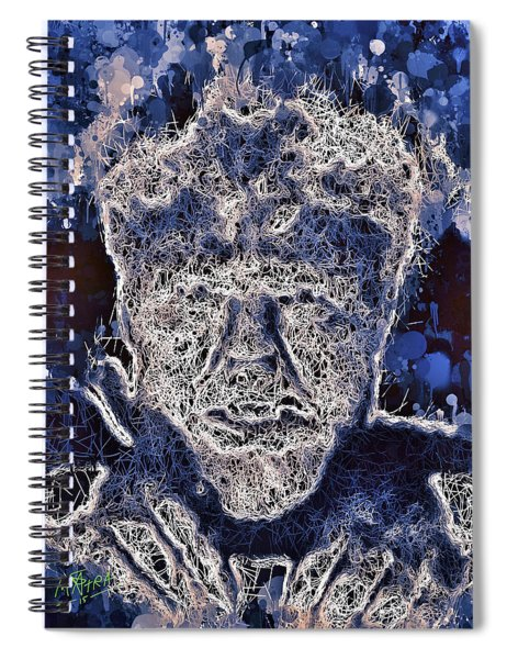 The Wolfman Spiral Notebook