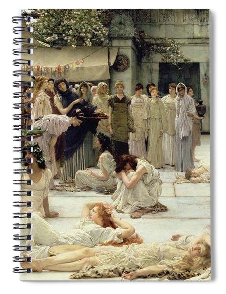 The Women Of Amphissa Spiral Notebook