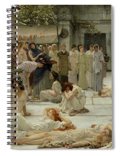 The Women Of Amphissa Spiral Notebook