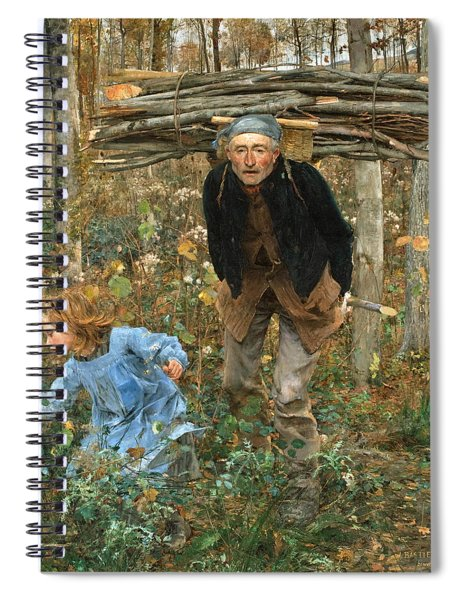 The Wood Gatherer Spiral Notebook