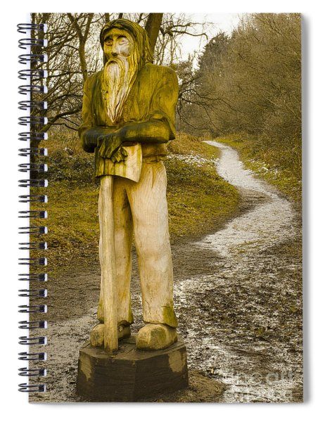 The Woodman Of The Beacon Spiral Notebook