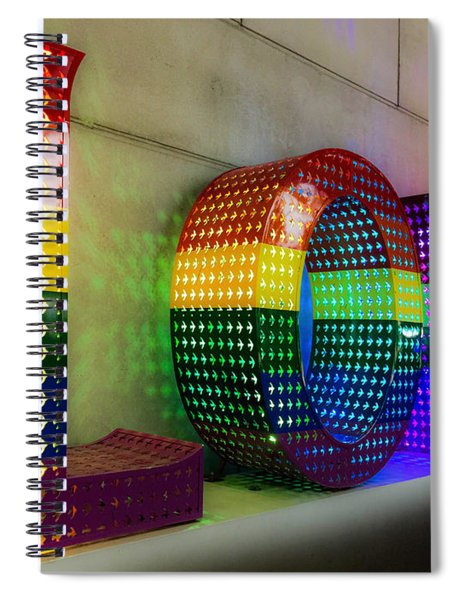 The Word Love Spiral Notebook