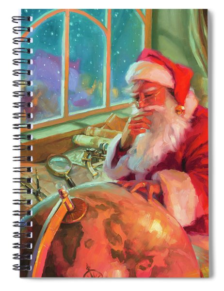 The World Traveler Spiral Notebook