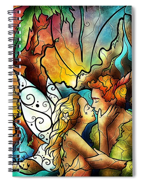 The World Was Ours Spiral Notebook