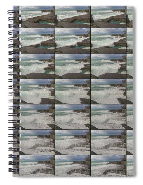 The Worm Hole Water Behavior Sequence Spiral Notebook