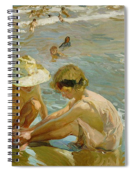 The Wounded Foot Spiral Notebook
