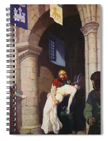 The Wounded Helen Spiral Notebook