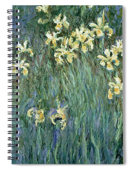 The Yellow Irises Spiral Notebook