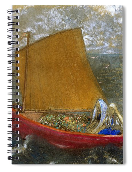 The Yellow Sail Spiral Notebook